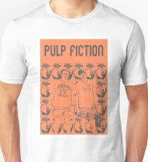 Pulp Fiction - Quentin Tarantino Retro Print T-Shirt