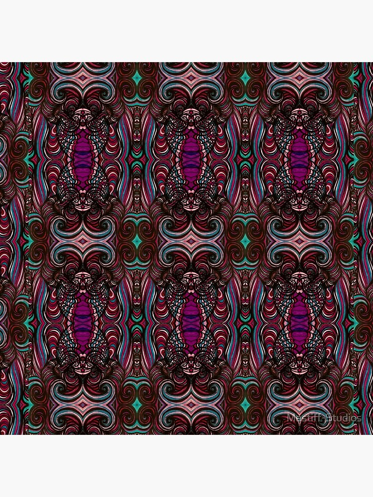 Pink Swirl #001 by Mastiff-Studios
