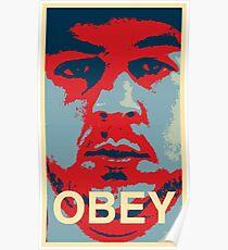 Obey Jonny Poster