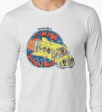 Washed-Out Magic School Bus Long Sleeve T-Shirt