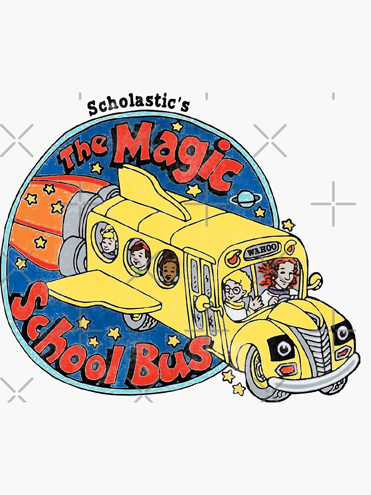 Washed-Out Magic School Bus by Meredibbs