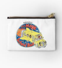 Washed-Out Magic School Bus Studio Pouch