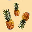 hipster girly tropical summer bohemian chic pineapple by lfang77