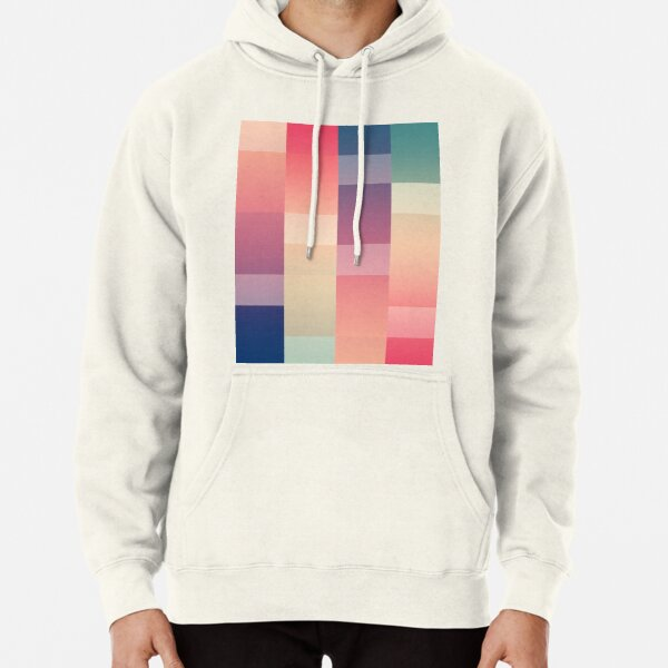 Abstract Sunset #redbubble #decor #buyart Pullover Hoodie