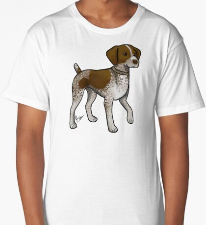 German Shorthaired Pointer Long T-Shirt