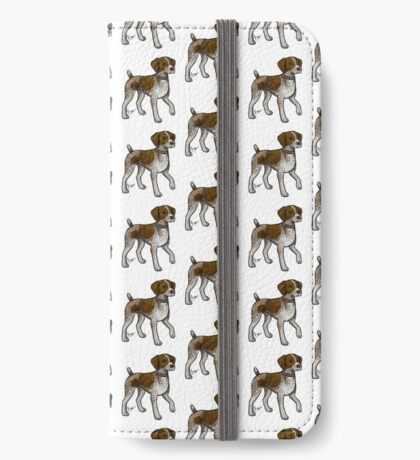 German Shorthaired Pointer iPhone Wallet