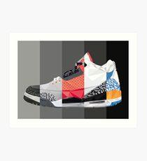 Jordan 3 Art Print