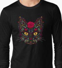 Day of the Dead Kitty Cat Sugar Skull T-Shirt