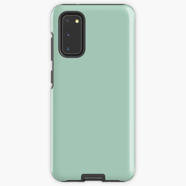 beachy summer aqua blue mint green seafoam  Samsung Galaxy Tough Case