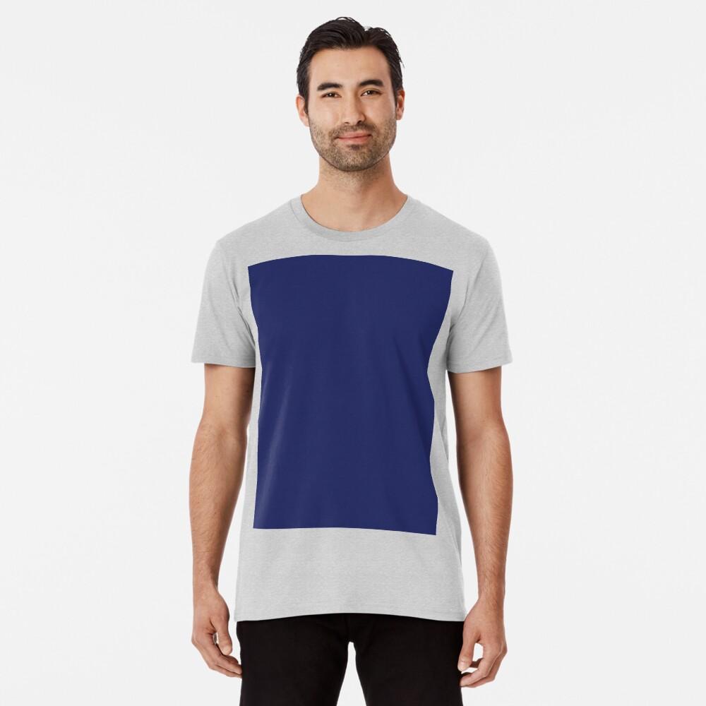moderno con playas preppy náutico azul marino Camiseta premium