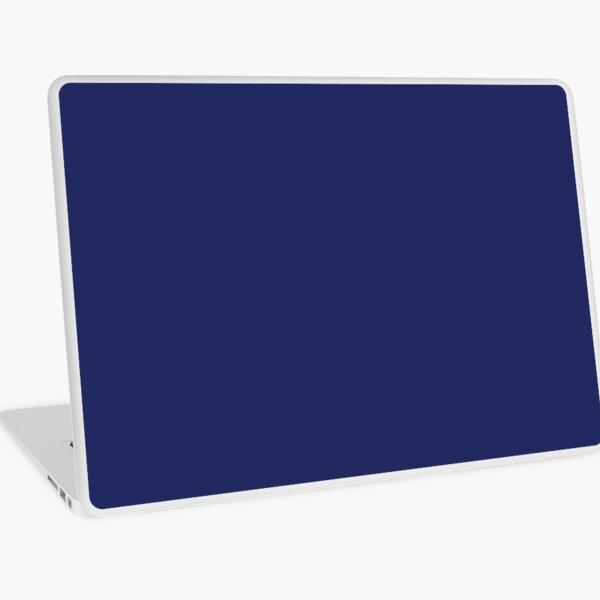 modern beachy preppy nautical navy blue Laptop Skin