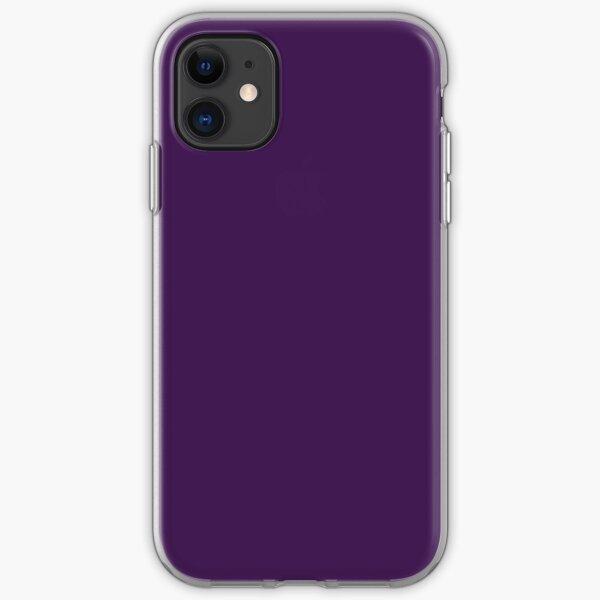romantic elegant lilac lavender Royal Purple iPhone Soft Case