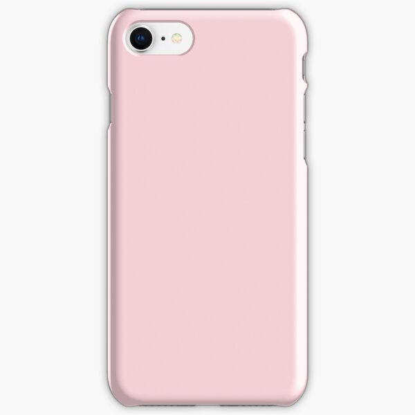 fashion romantic cotton candy pastel blush pink iPhone Snap Case