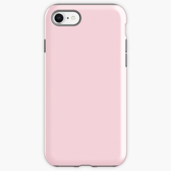 fashion romantic cotton candy pastel blush pink iPhone Tough Case