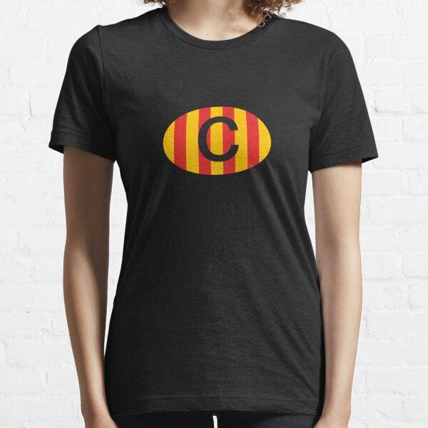 Catalunya C Classic Vintage Oval Badge Catalonia Essential T-Shirt
