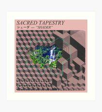 Lámina artística Sacred Tapestry [vaporwave]