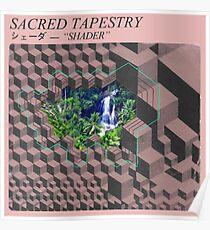Póster Sacred Tapestry [vaporwave]
