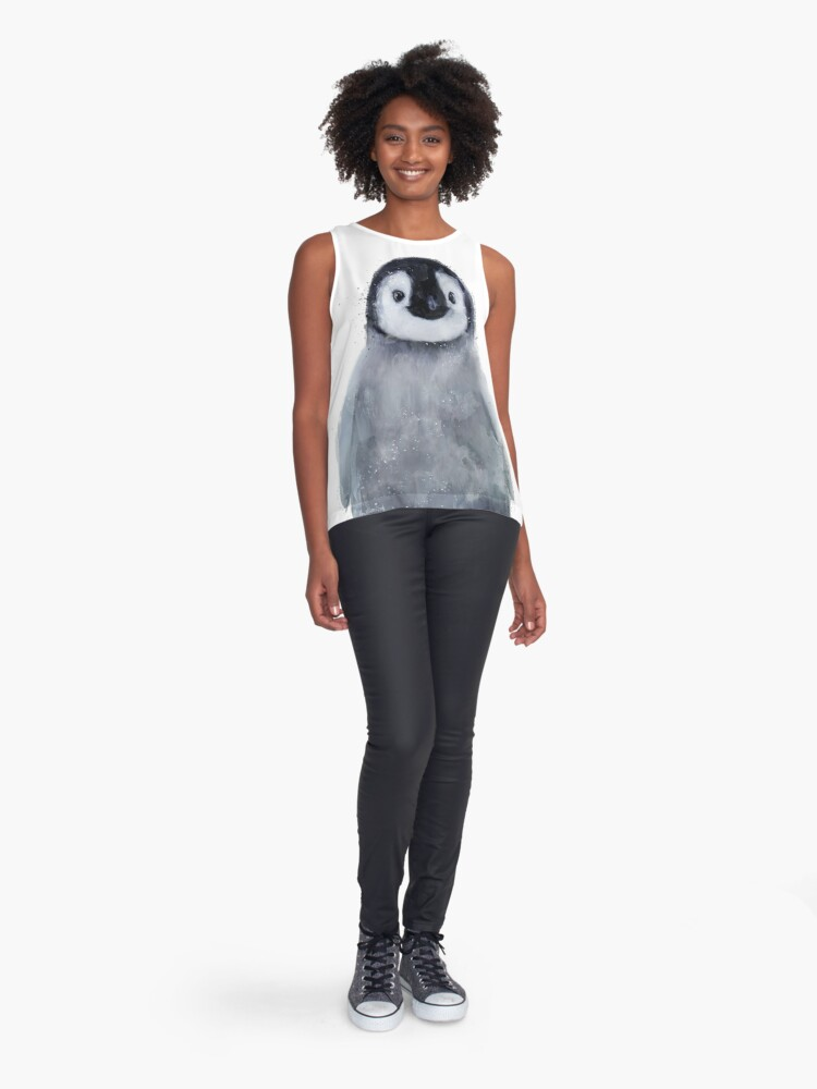 Alternate view of Little Penguin Sleeveless Top