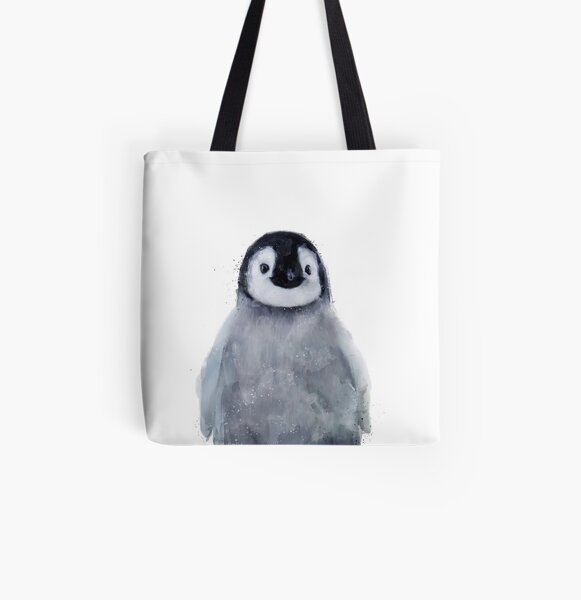 Little Penguin All Over Print Tote Bag