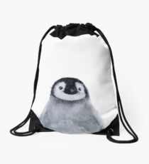 Little Penguin Drawstring Bag