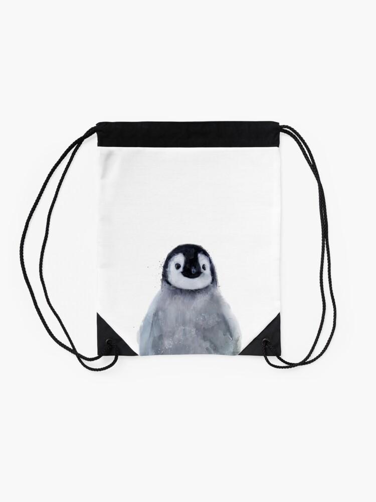 Alternate view of Little Penguin Drawstring Bag