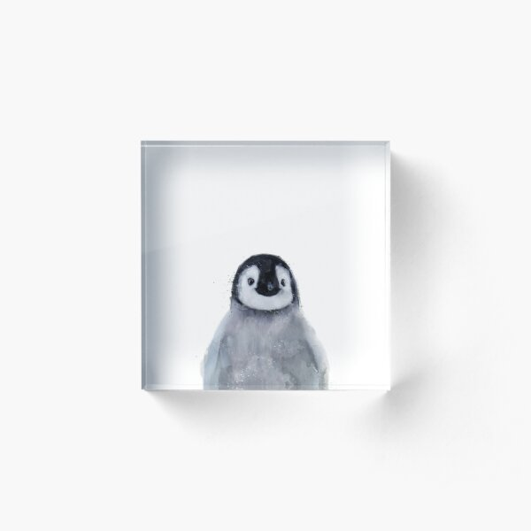 Little Penguin Acrylic Block
