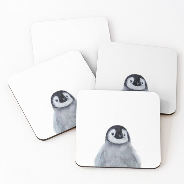 Little Penguin Coasters (Set of 4)