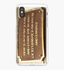 HERE YOU LEAVE TODAY  iPhone Case/Skin