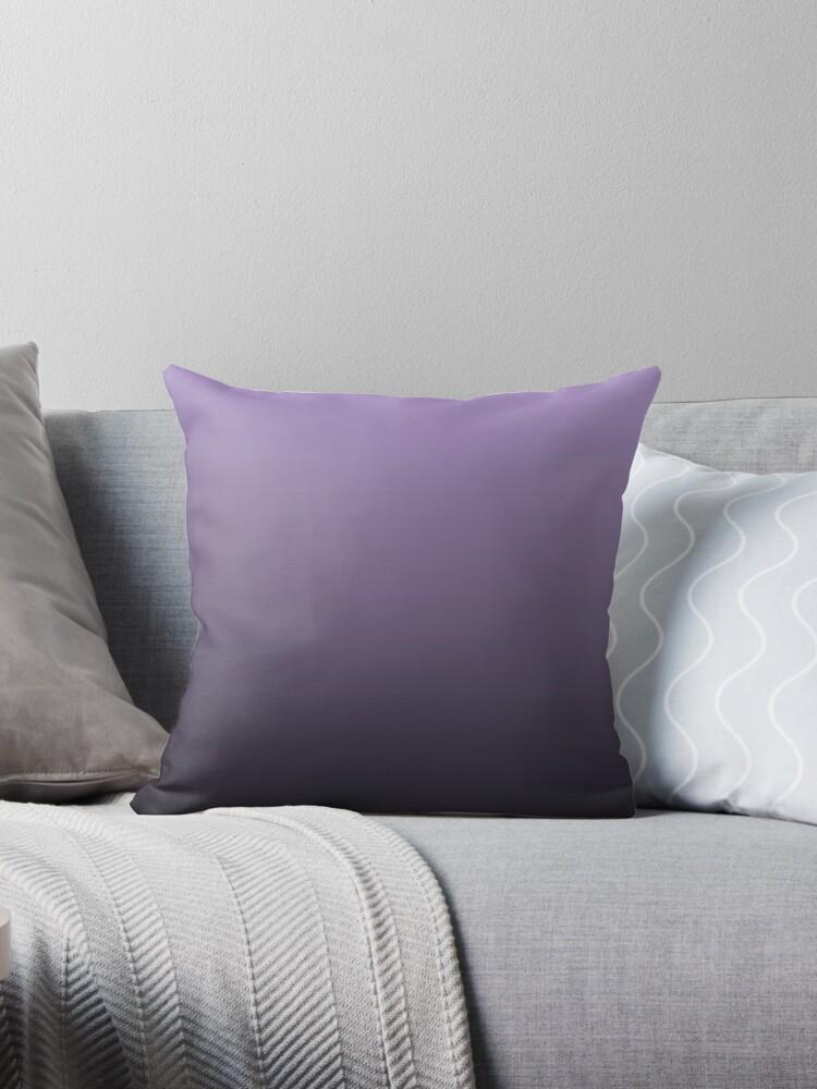 Modern Purple Throw Pillow :