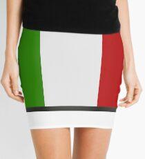 Italian flag Mini Skirt