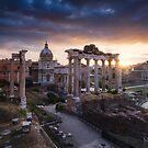 Forum Romanum by Michael Breitung