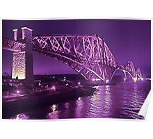 Edinburgh Forth Rail Bridge Poster