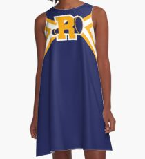 River Vixens Cheerleading Costume A-Line Dress