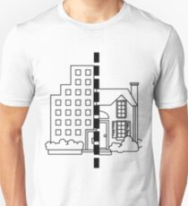 City vs suburb. T-Shirt