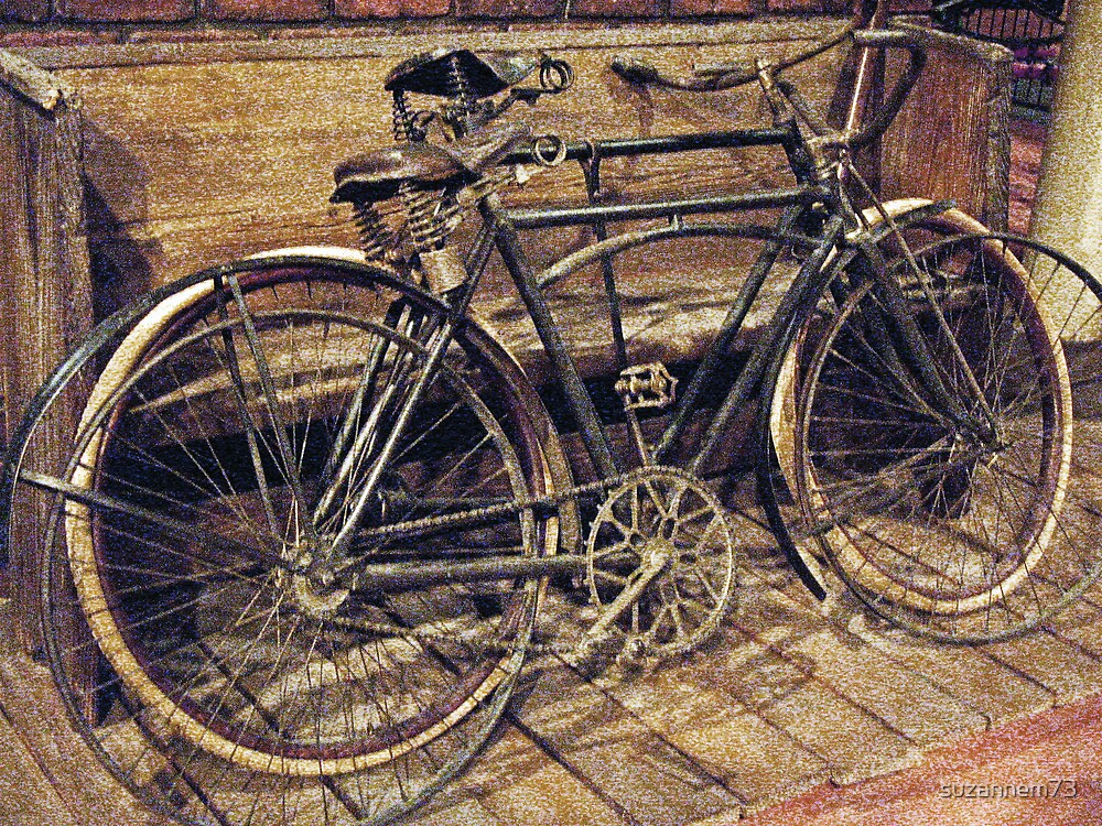 Vintage Bicycles by suzannem73