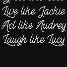 Coco, Jackie, Audrey und Lucy von kjanedesigns