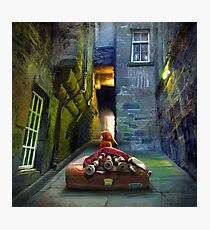 """""""Bagpiper from Trunk's Close"""" Photographic Print"""