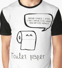toilet paper Graphic T-Shirt