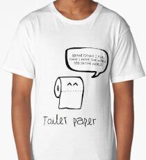 toilet paper Long T-Shirt