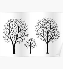 Small Tree Family Poster