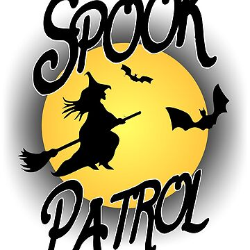 Spook Patrol Halloween T-Shirt by RDGGlobal