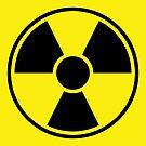 Radiation Warning Sign by Henrik Lehnerer