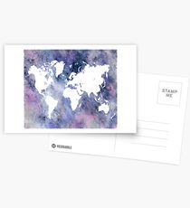 Design 65 World map Postcards