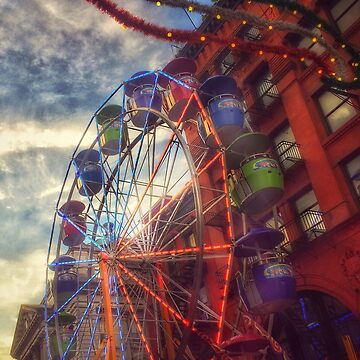 At the Feast of San Gennaro - Reaching for the Sky by mimmi12