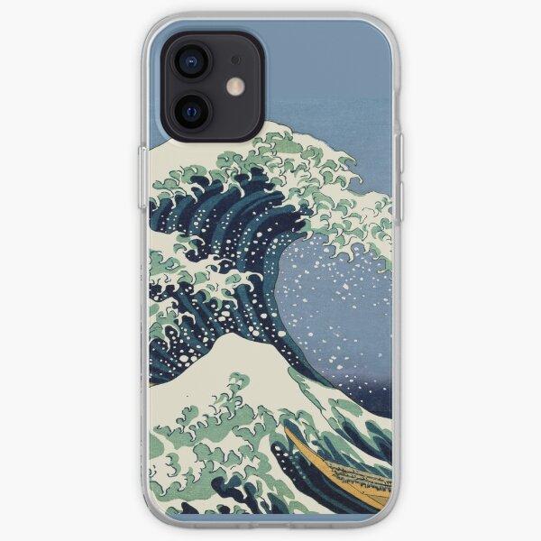 The Great Wave by Katsushika Hokusai iPhone Soft Case