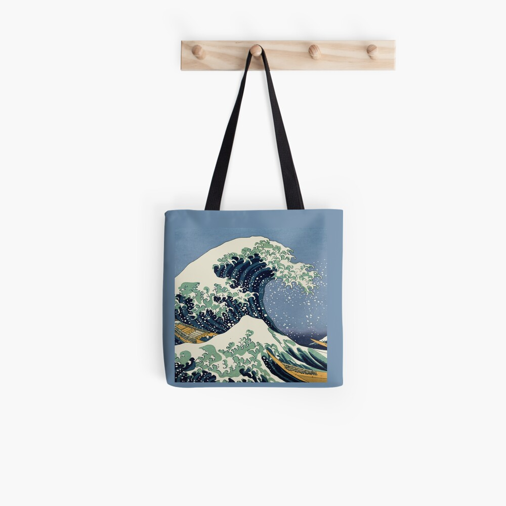 The Great Wave by Katsushika Hokusai Tote Bag