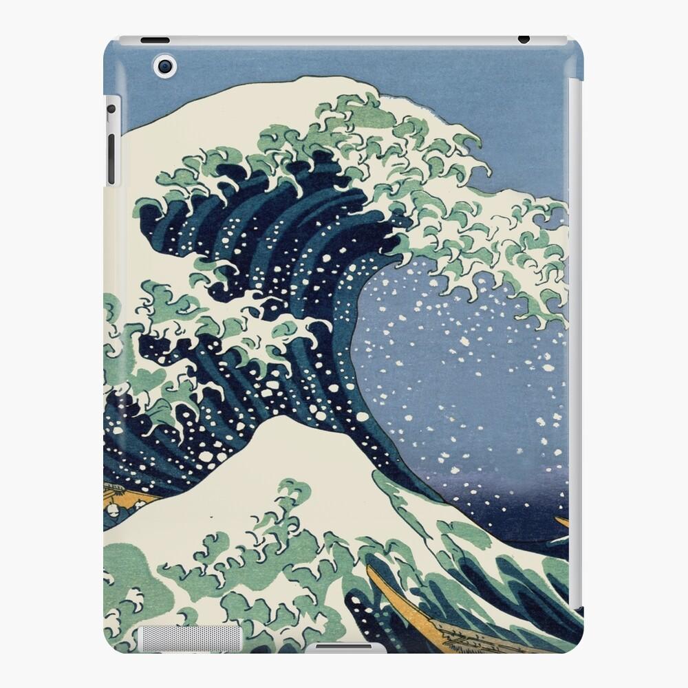 The Great Wave by Katsushika Hokusai iPad Case & Skin