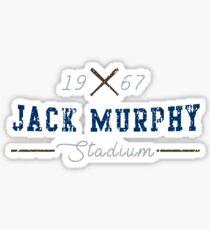 Jack Murphy Stadium Sticker