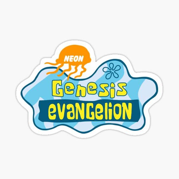 Néon Genesis Evangelion Sticker