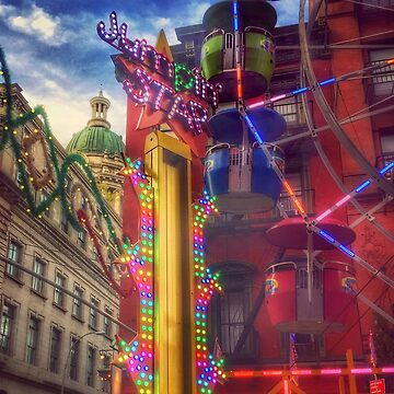 At the Feast of San Gennaro - Colors of Joy - Little Italy, New York City USA - large by mimmi12